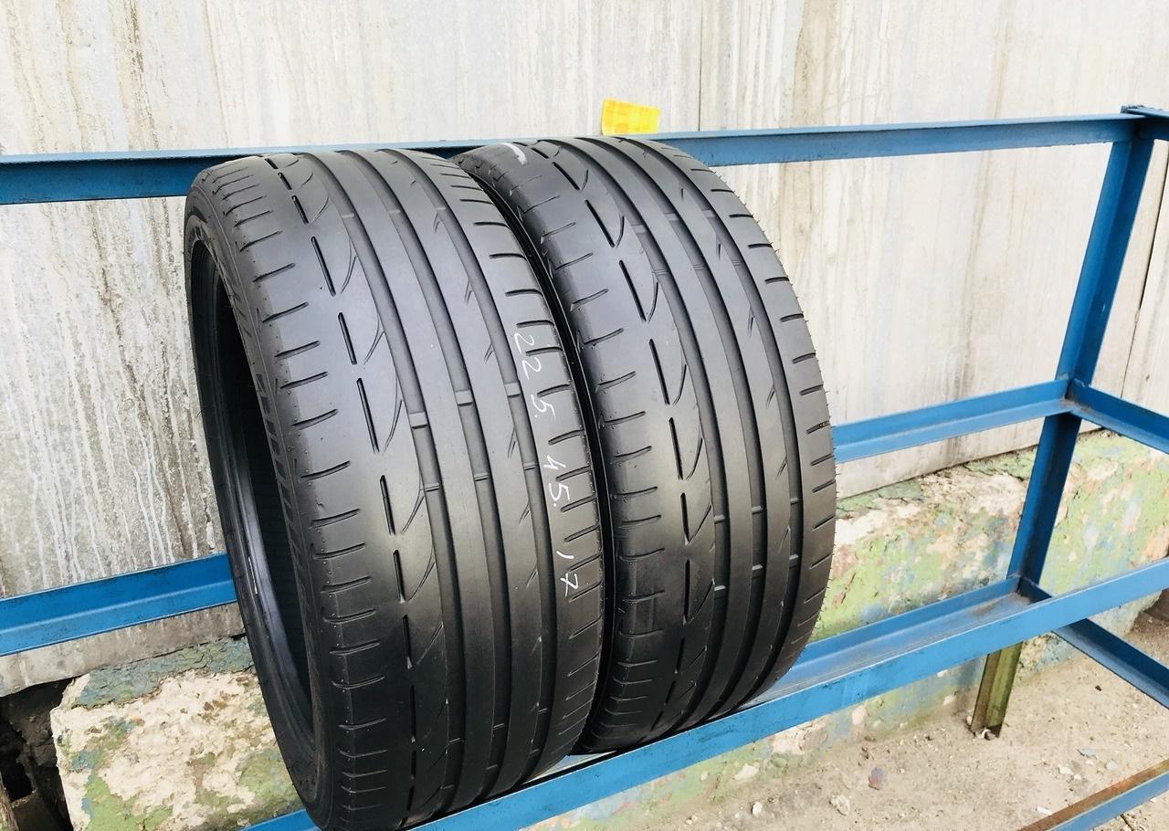Шины бу 245 40 20 Bridgestone Potenza S001