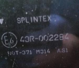 Стекло лобовое Nissan Patrol Y61 splintex 72712-VB000