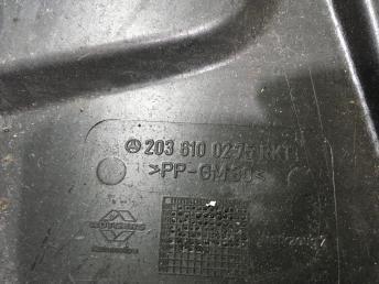 Ниша запасного колеса Mercedes W203 2036100275