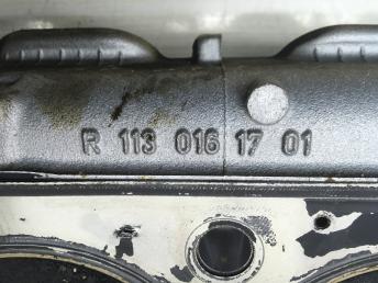 Головка блока цилиндров правая Mercedes M113 1130161701