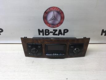 Блок управления климат-контролем Mercedes W220 2208301185