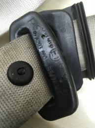 Ремень безопасности Mercedes W203 2038608785