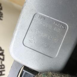 Замок ремня безопасности задний Mercedes W221 2218601169