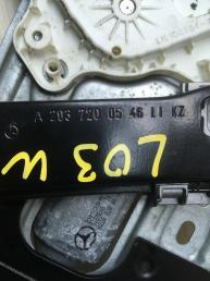Стеклоподъемник передний левый Mercedes W203 2037200546