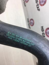 Патрубок радиатора охлаждения Mercedes W221 2215013684