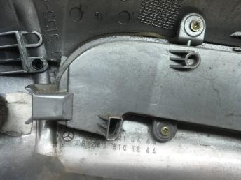 Корпус зеркала правый Mercedes W203 2038101864