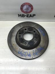 Тормозной диск передний Mercedes W203 2034210312