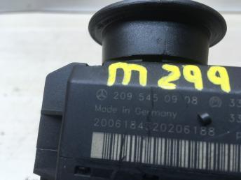 Замок зажигания + ключ Mercedes W203 2095450908
