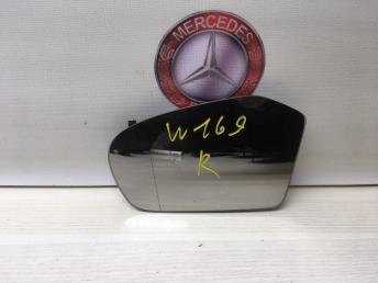 Зеркальный элемент левый Mercedes W169 1698100721