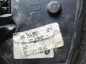Механизм правого зеркала Mercedes W220 2208100216
