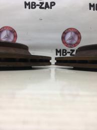 Тормозной диск задний Mercedes W220 Япония 2204230212