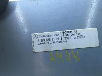 Блок телефона Mercedes W220 Япония 2208202126