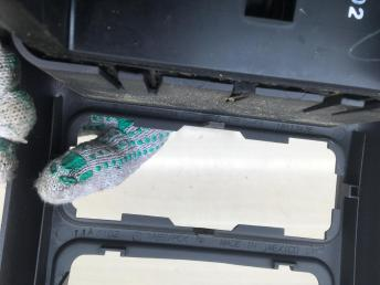 Консоль подлокотника сзади Mercedes W163 1636830654