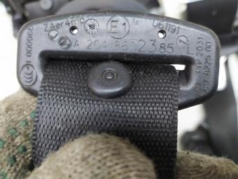 Ремень безопасности Mercedes W204 2048602485