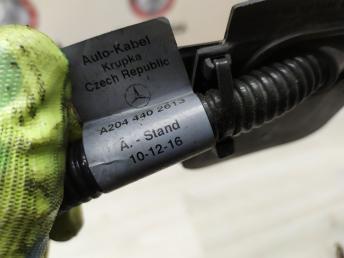 Провод аккумулятора Mercedes W204 2044402613