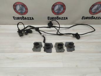 Комплект задних + проводка  Mercedes W219 2195404605