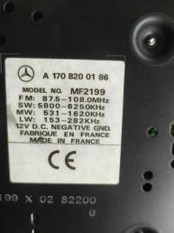 Магнитола Mercedes W210 1708200186