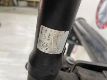 Тягово-сцепное устройство  Mercedes X164 A1643100556
