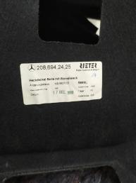 Обшивка багажника Mercedes W208 Cabriolet 2086940625