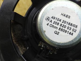 Музыка Mercedes W208 2088203102