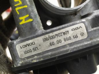 Дроссельная заслонка Mercedes M111 1110980009