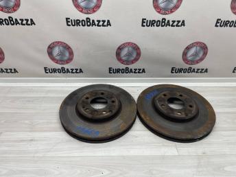 Тормозные диски передние  Mercedes W210 A0014205783