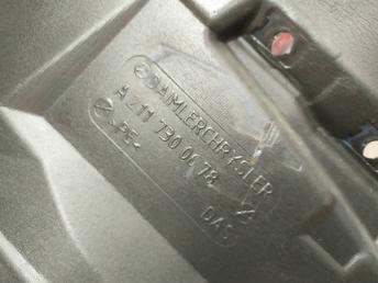 Шумоизоляция двери задней левой Mercedes W211 2117300678