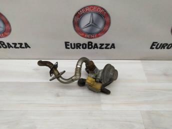 Клапан рециркуляции ог с трубкой Mercedes М112 1121400060