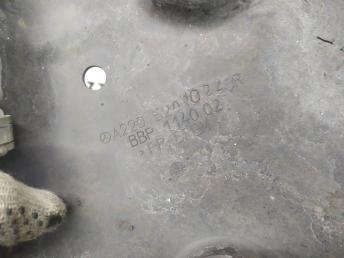 Защита моторного отсека правый Mercedes W220 S 2205201022