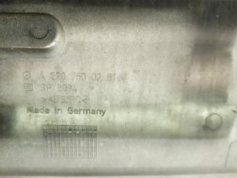 Накладка крышки багажника Mercedes W220 2207500281