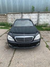 Разбор Mercedes W221 4MATIC