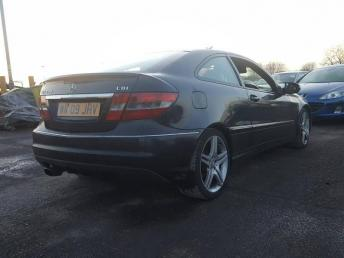 Разбор Mercedes W203 Sport Coupe Conversion