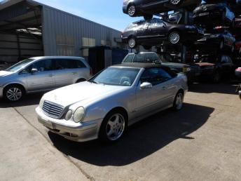 Разбор Mercedes W208 Cabriolet