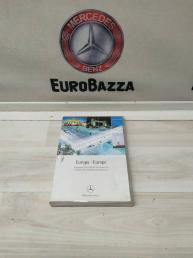 Диск навигации по Европе 4.0 Mercedes W220