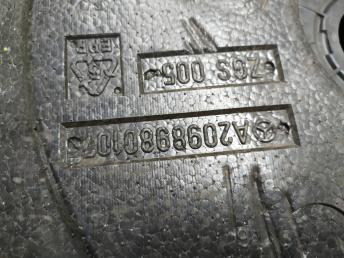 Ящик для инструментов Mercedes W209 2098980107