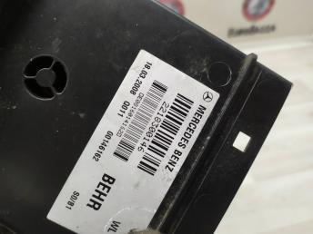Воздуховод задний левый Mercedes W221 2218300146