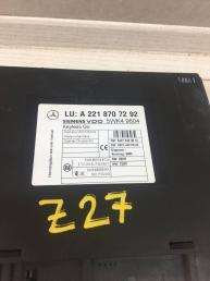 Блок управления KeyLess Go Mercedes W221 2218707292