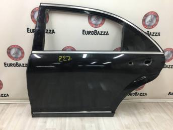 Дверь задняя левая Mercedes W221 2217300505
