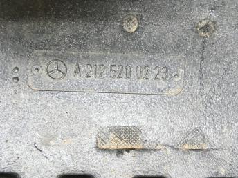 Защита бампера пластиковая передняя Mercedes  W212 2125200223