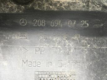Обшивка погрузочного отсека Mercedes W208 2086940725