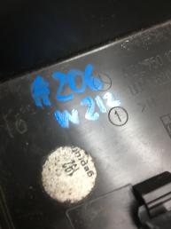 Планка ручки багажника Mercedes W212 2127401793
