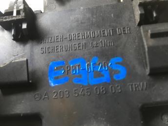 Блок предохранителей Mercedes W203 2035450803