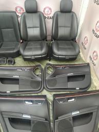 Кожаный Салон Mercedes W221