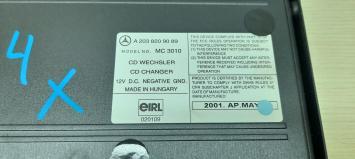 CD Чейнджер Mercedes W251 R 2038209089