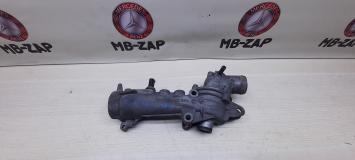 Кронштейн термостата + Термостат Mercedes M111 1112030473