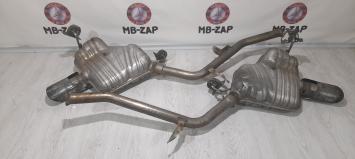 Глушитель выхлопных газов конечный Mercedes W251 2514909401
