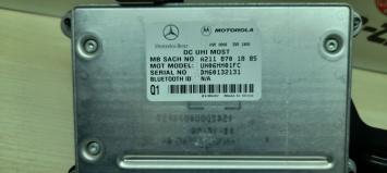 Блок управления телефоном Mercedes W203 2118701885