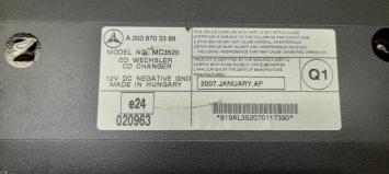 CD-чейнджер Mercedes W203 2038703389