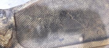 Защита Mercedes W203 Coupe 2035201823