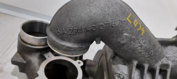 Топливная и выхлопная системы Mercedes W203 C 2710902380